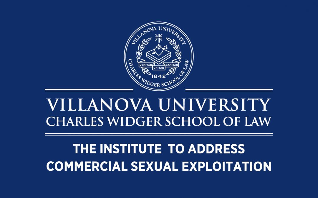 Villanova report: commercial sexual exploitation in Pennsylvania
